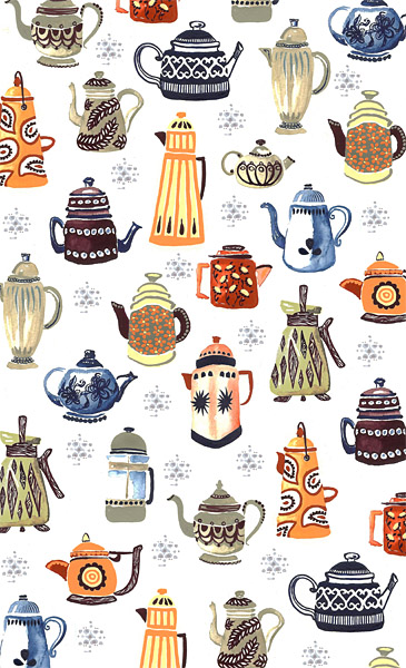 Coffee Pot Pattern
