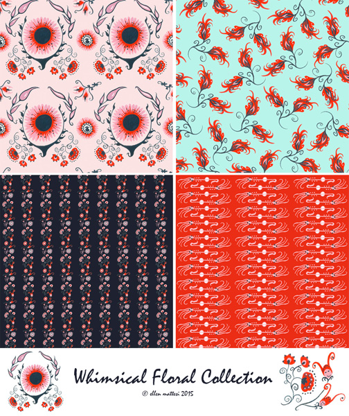 Whimsical Floral Collection