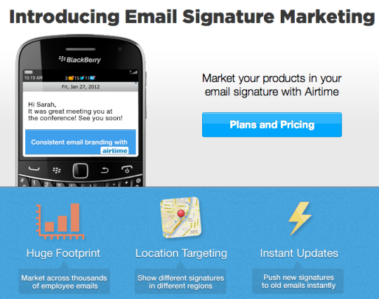 airtime-for-email