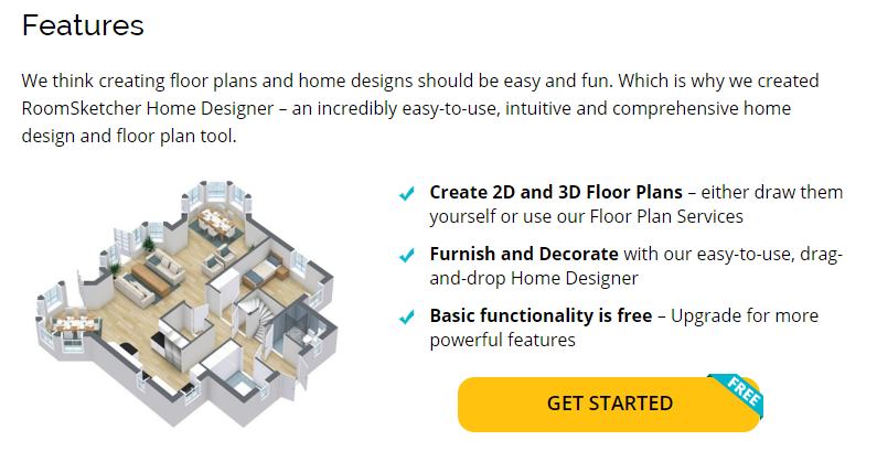 Room Sketcher Makes It Easy to Create Professional Floor Plans
