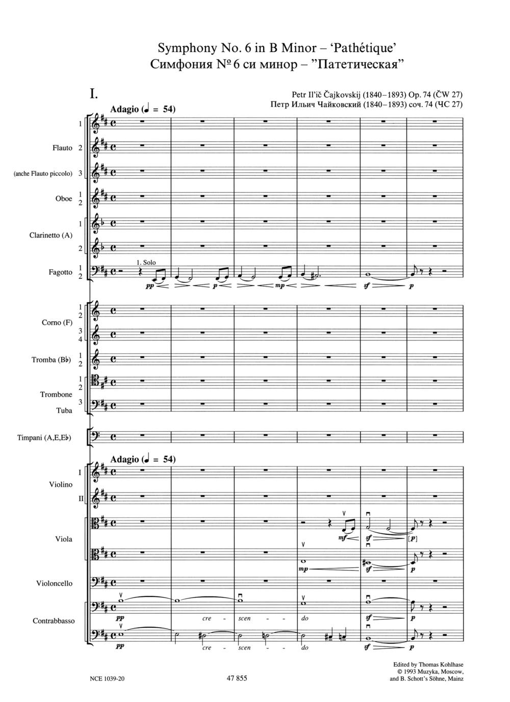 Tchaikovsky 6 Score Page 1.jpg