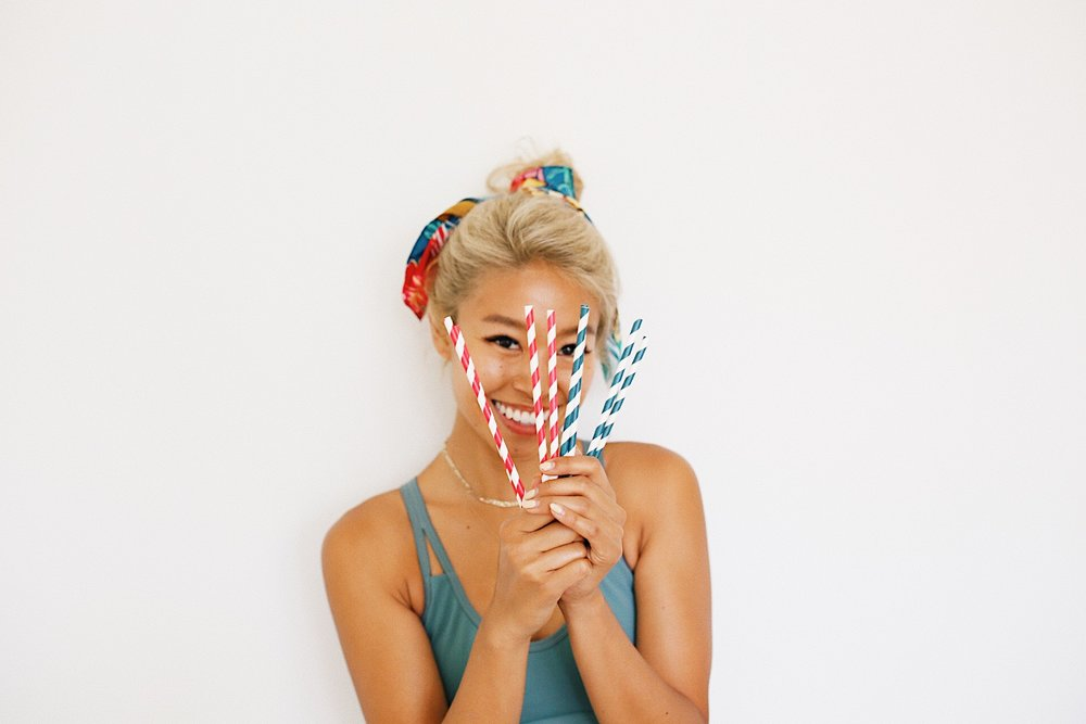 Bye plastic straws... - Hello paper, stainless or glass!