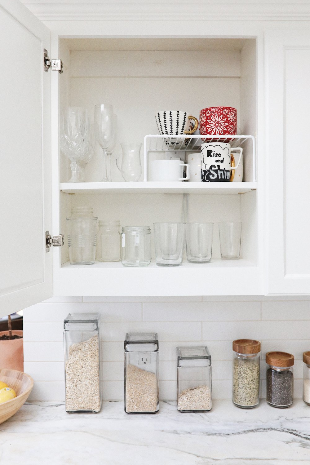 AFTER   Products Used:  Medium Cabinet Shelf