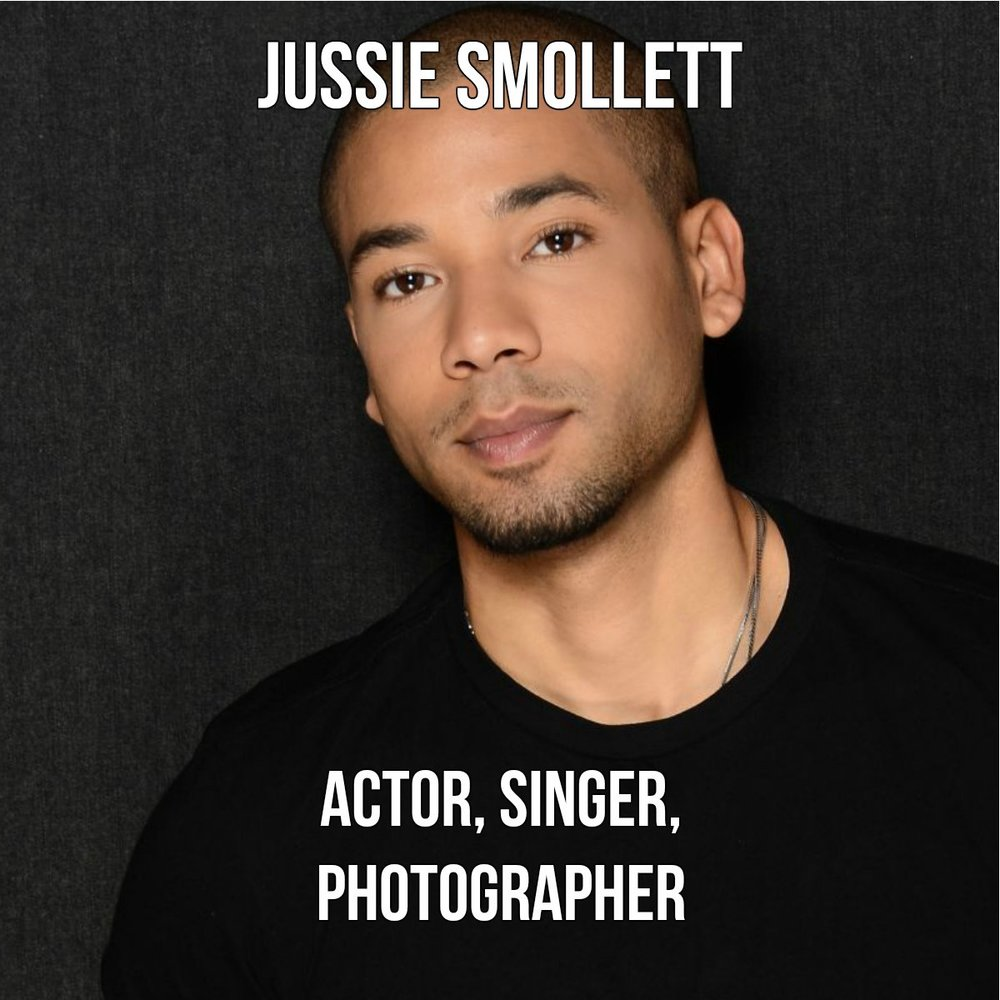 A child actor who began his start in national network commercials, Jussie would later co-star in Disney's The Mighty Ducks (1992) and Rob Reiner's North (1994). In 2015, Smollett portrayed musician Jamal Lyon on Fox's critically acclaimed TV drama Empire. Smollett confirmed he is gay during an interview with Ellen DeGeneres in March 2015. Source: Wikipedia, Jussie Smollett