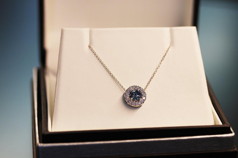 Heavenly Halo Pendant with Blue Diamond2.jpg