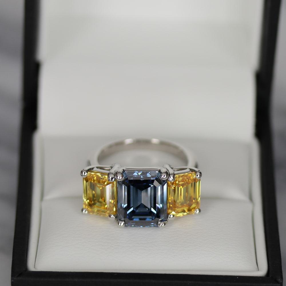 RAINBOW OF BRILLIANCE   A new era of fancy colored diamonds
