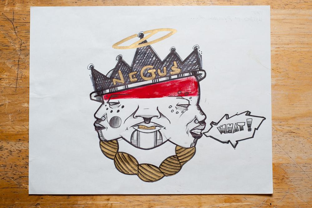 """Psychosis & Mythos of (King Shit)"""