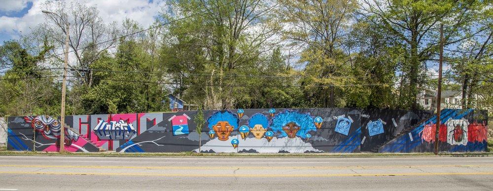 Mural on Millwood
