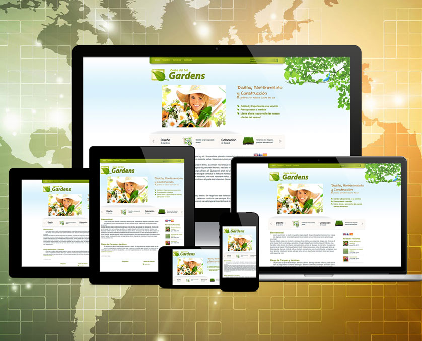 Your website in all devices!  Brand Quality!