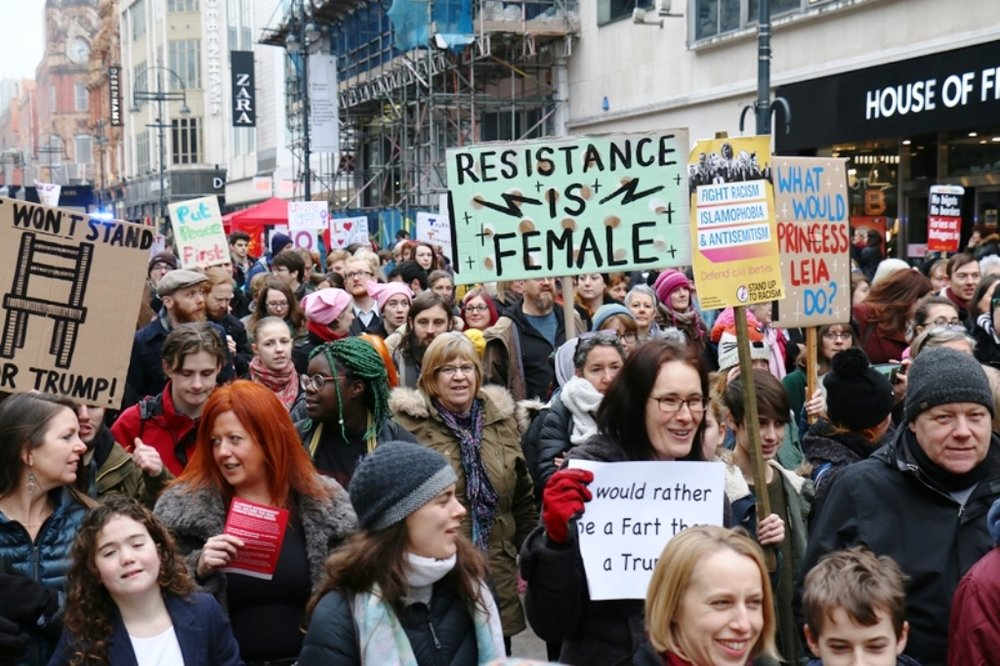Women's March, Leeds