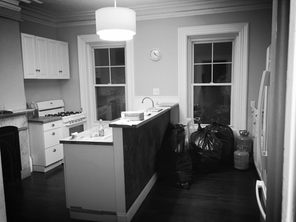 Kitchen before the renovation