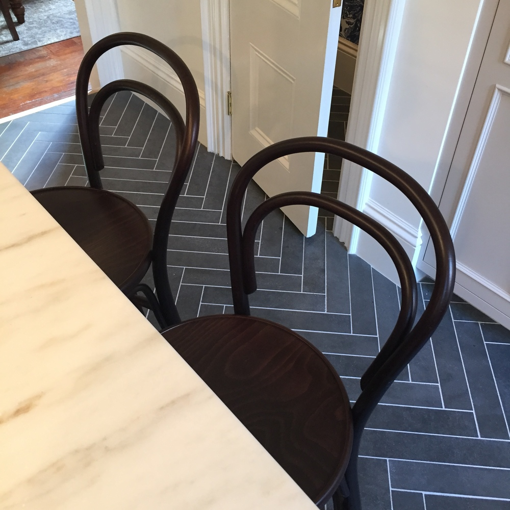 Thonet counter stools
