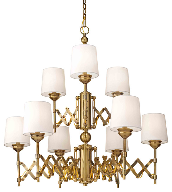 Feiss Hugo chandelier