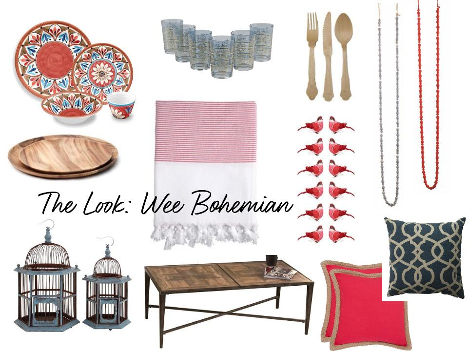 A mood board I created for  a holiday kids' table concept on Joss & Main . Click through for the pics!