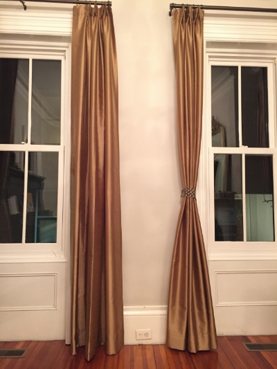 Trained curtains