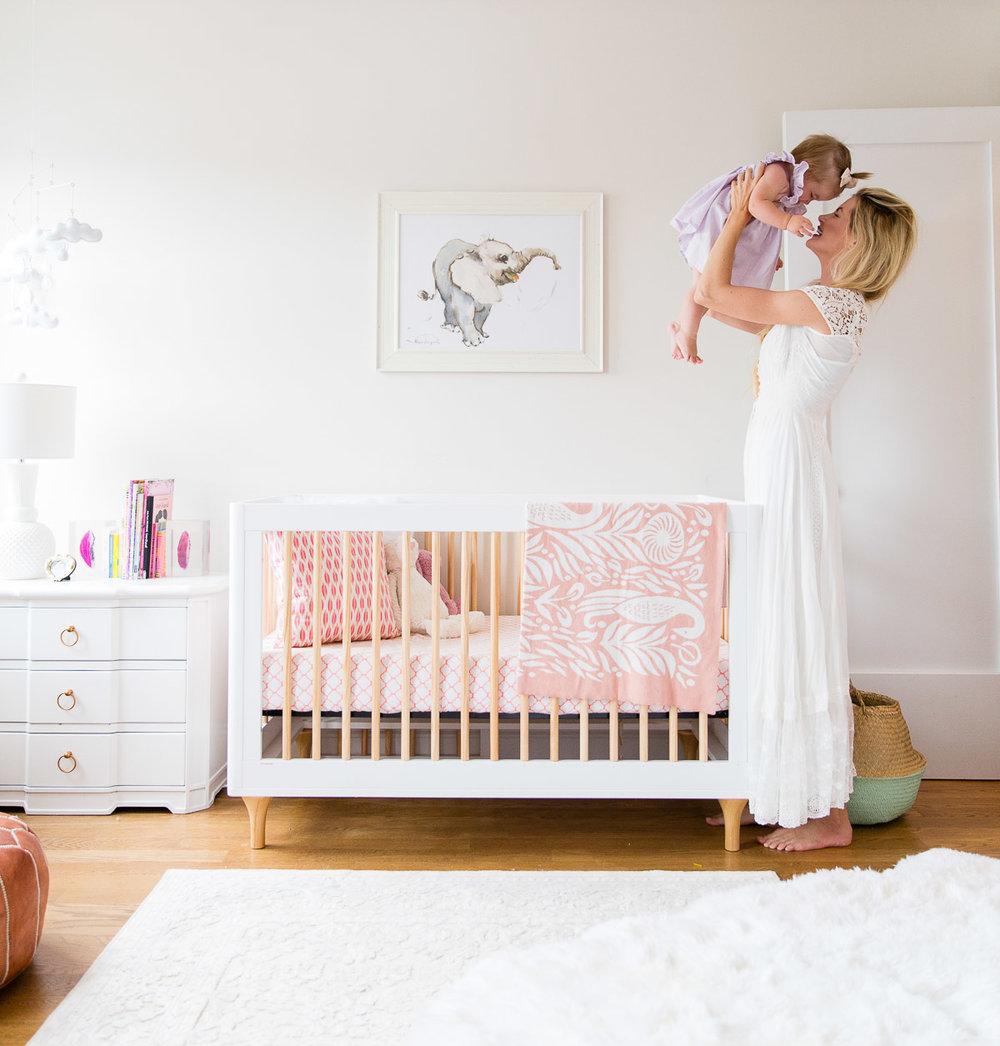 Barefoot Blonde nursery