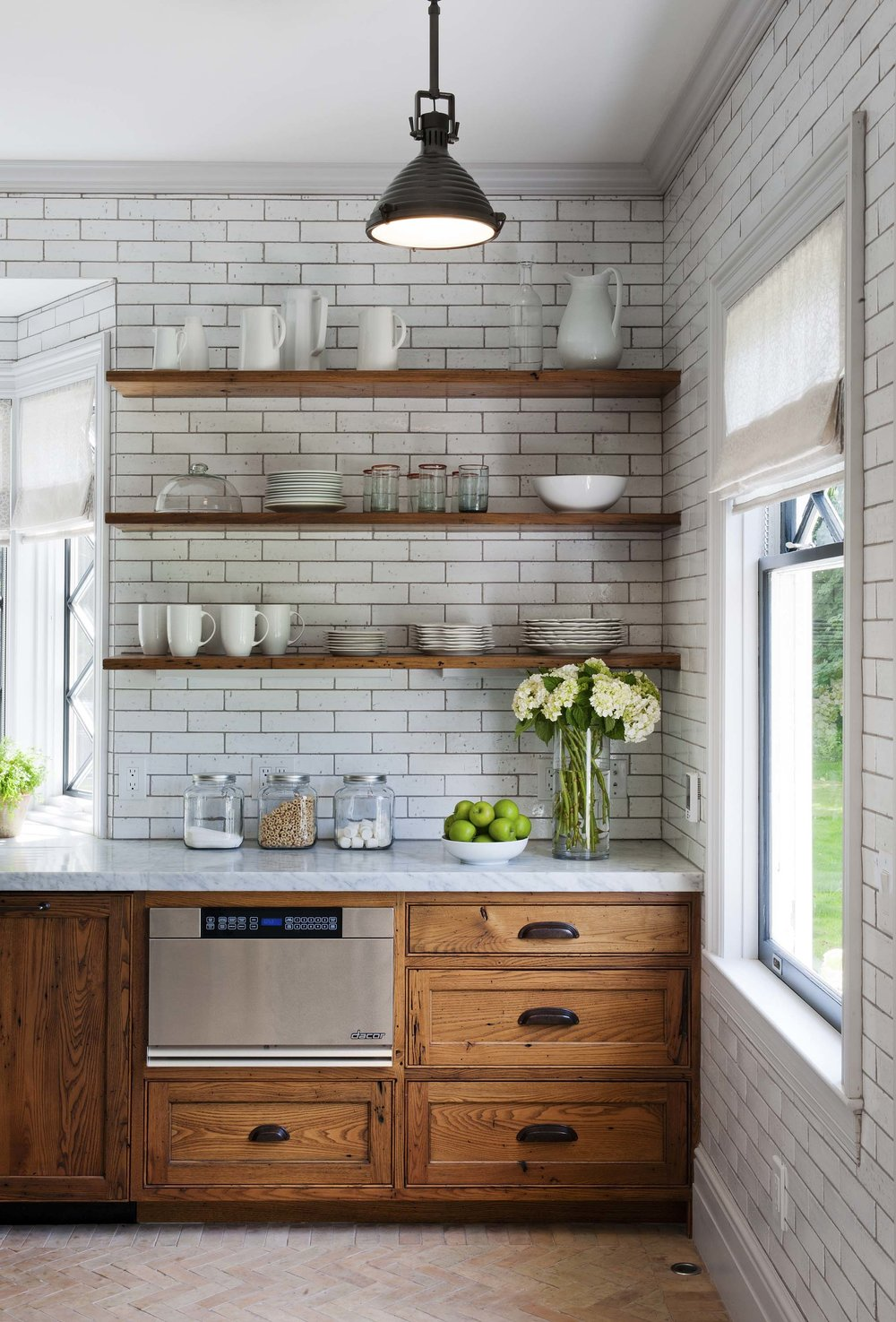 what to do with brown kitchen cabinets self styled rh selfstyled com White Kitchen Brown Counter Red- Brown White Kitchen Cabinets