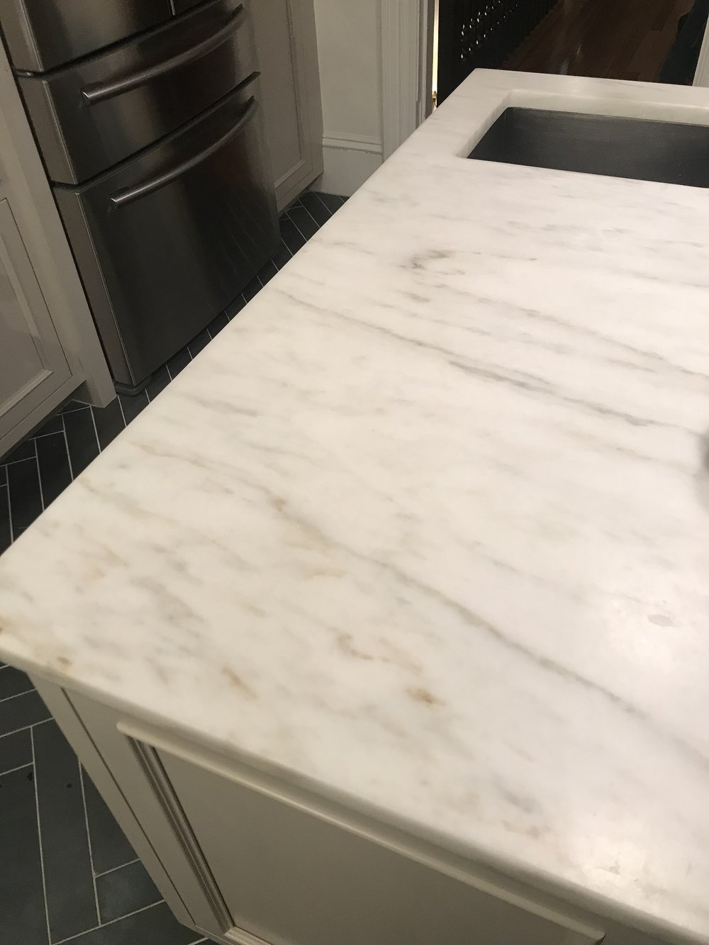 Captivating Anyone Out There Have Honed Marble Countertops And NOT Feel The Same Way I  Do? If Your Experience Has Been Different, What Did You Not Like About ...