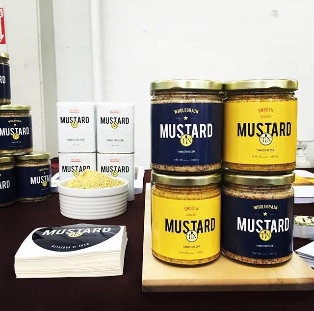 World's best mustard, photo courtesy of tinmustard instagram.