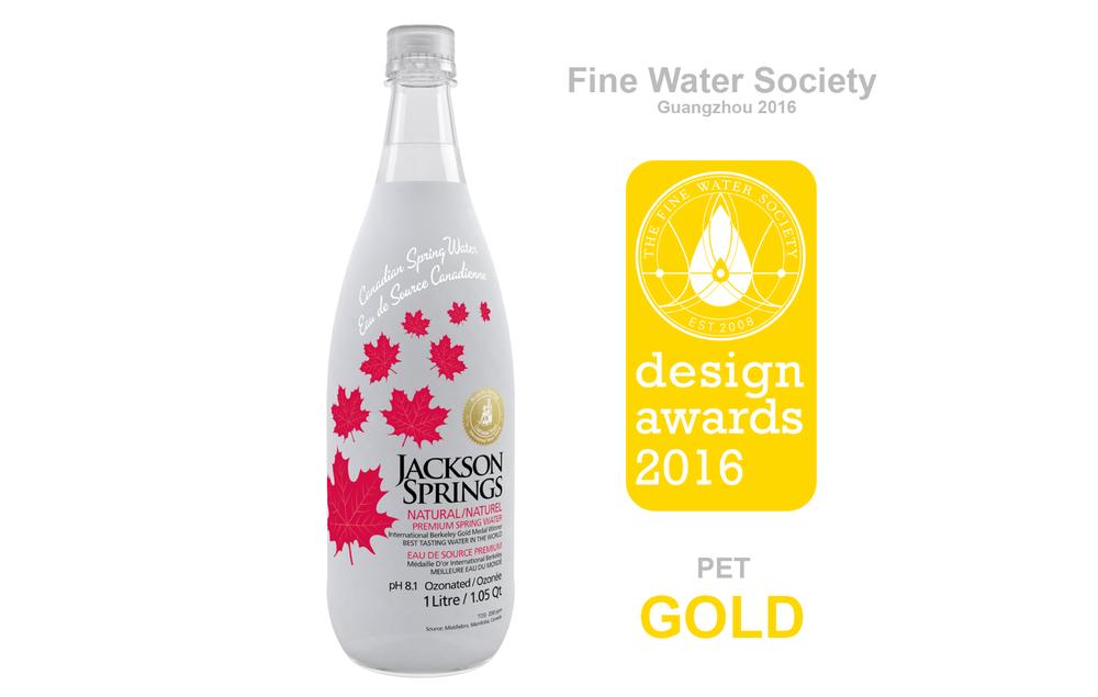 Jackson Springs Water - Bottle Design Award.png