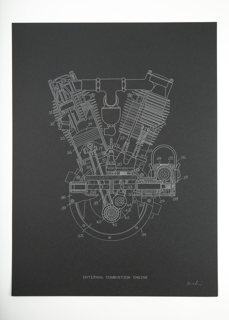 Internal Combustion Engine 22teeth Illustrated Diagram Of A Basic Unframed 41