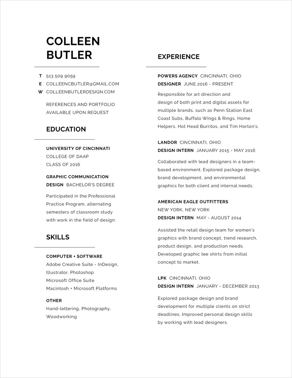 Resume_ColleenButler