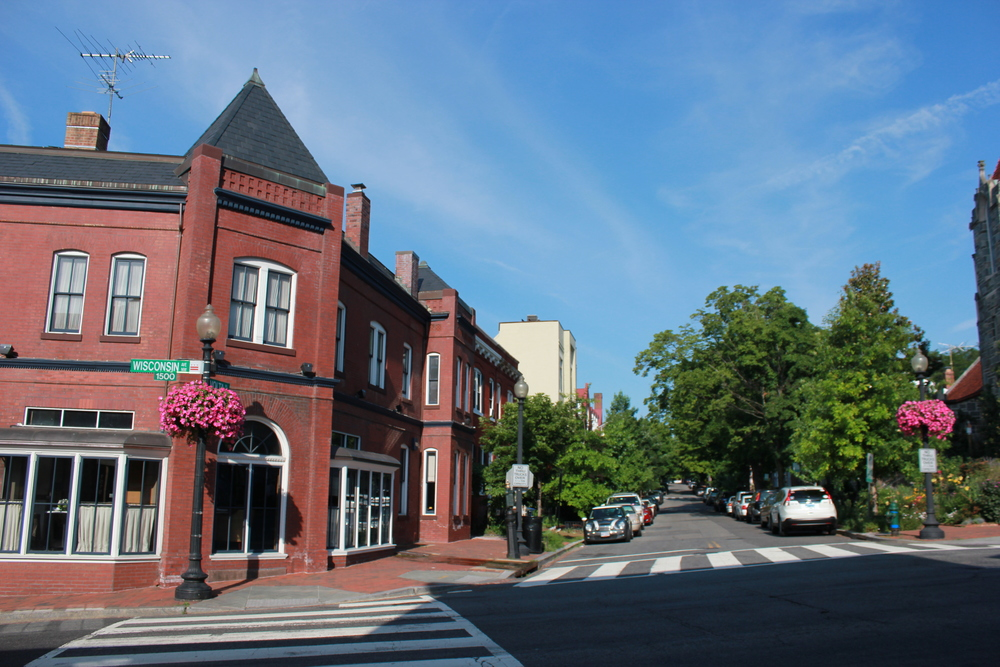 Wisconsin Avenue in Georgetown, Washington D.C.