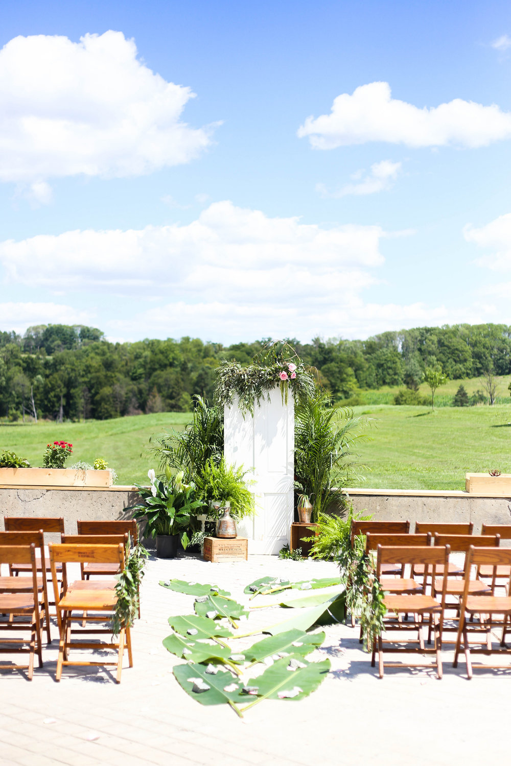 Tropical Barn Wedding by Patchwork Planning -- Image Courtesy of Photography by Seneca