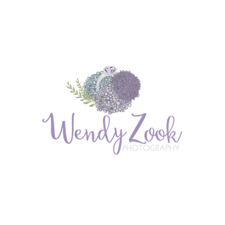 Wendy Zook Photography Logo from Alyssa Joy Photography & Design
