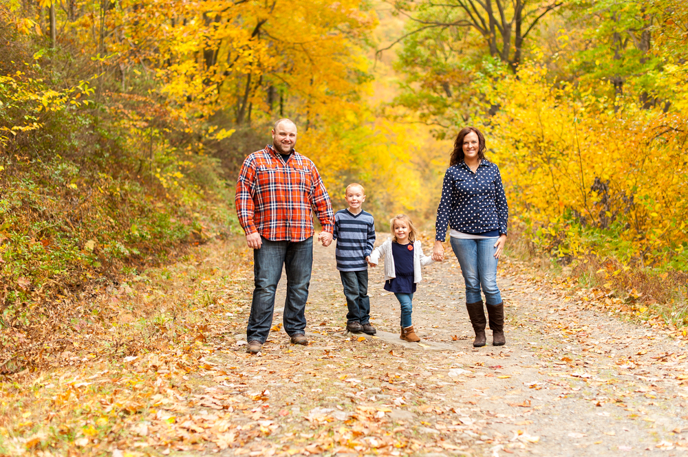 Family Photo Session in the Fall -- Rochester Photographer Wendy Zook