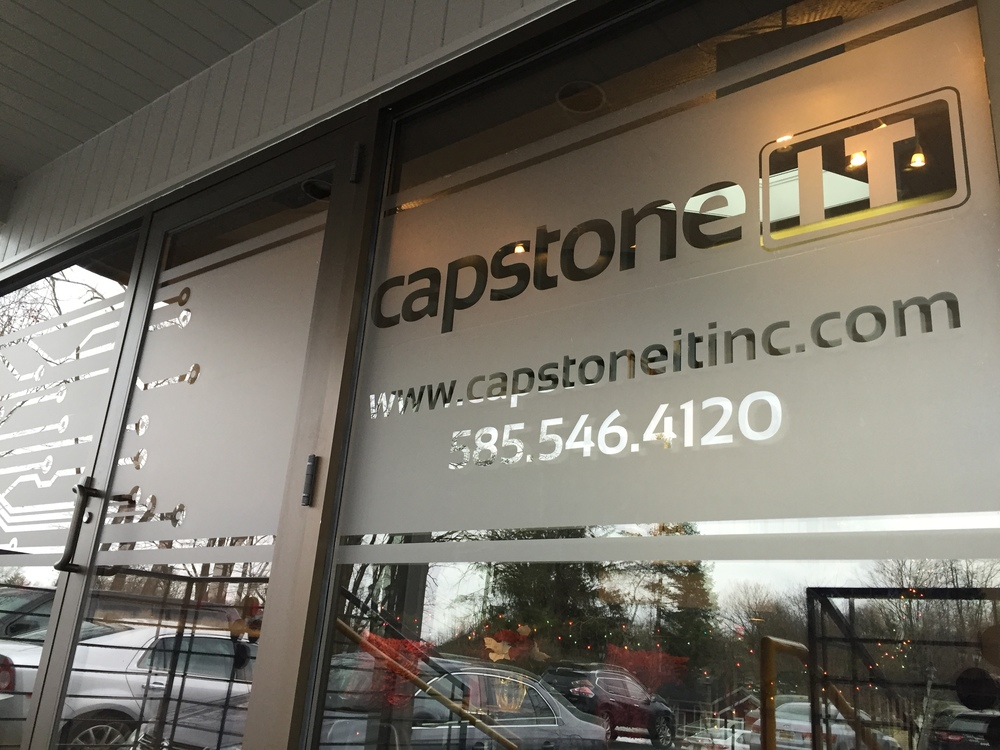 Capstone IT Window Vinyl