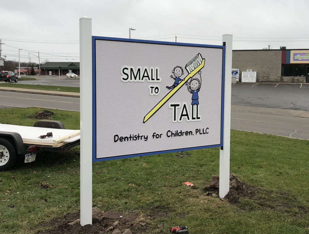 High Density Urethane Signage