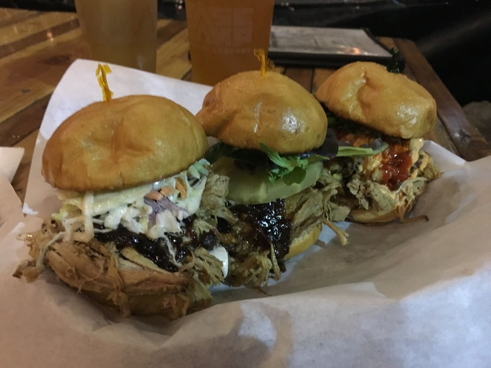 Portland Oregon Brewery and Food Tour Basecamp Brewing HotBox Food Truck