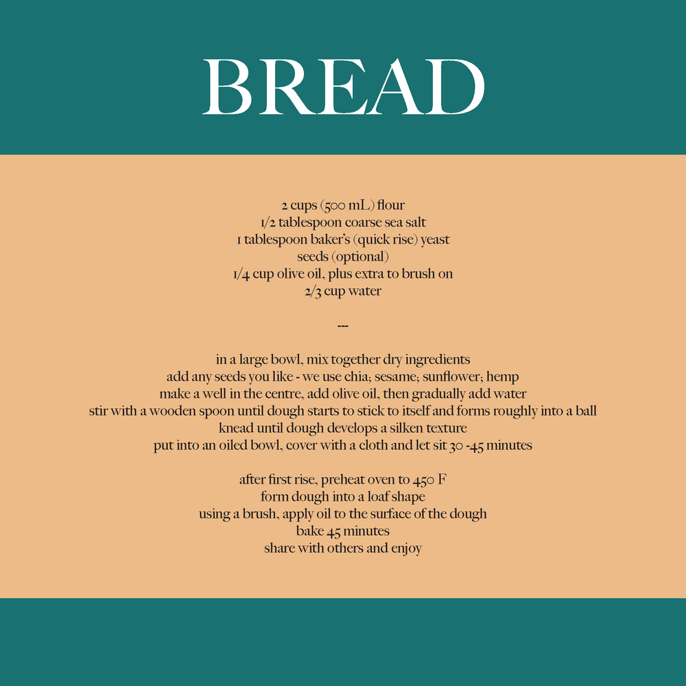 bread, homemade bread, sustainable cuisine, eco cooking