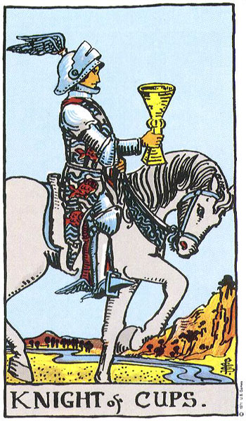 the knight of cups, knight of cups, tarot, the tarot, tarot reading, monthly astrology