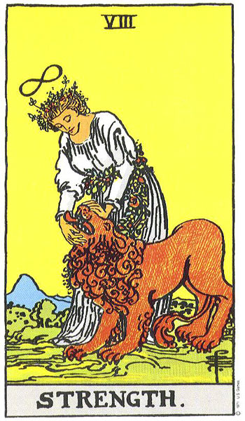 strength, tarot, rider waite, astrology, july horoscope, susan miller