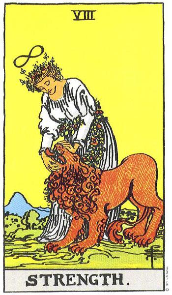strength, tarot, rider waite, astrology, july horoscope, susan miller