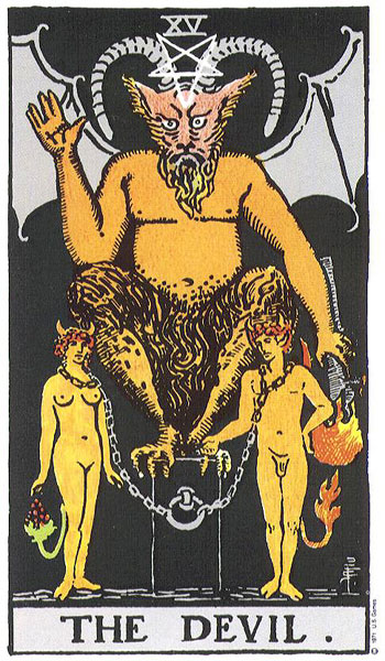 the devil, tarot, rider waite, susan miller, astrology, horoscope, august astrology