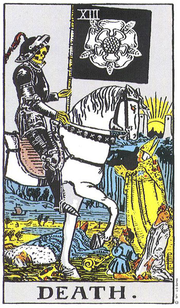 death, tarot, the tarot, rider waite, susan miller, horoscope, zodiac