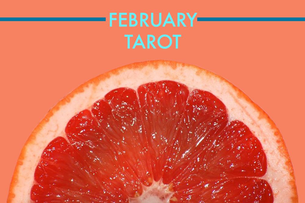 february 2018, february tarot, february astrology, 2018, rider waite, tarot cards, biddy tarot, pentacles, zodiac