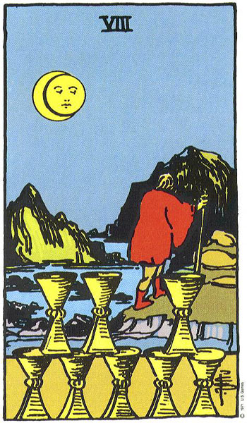 eight of cups, rider waite, susan miller, the kitten life, march 2018 astrology, zodiac, monthly horoscope