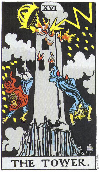 the tower, major arcana, rider waite, susan miller, the kitten life, march 2018 astrology, zodiac, monthly horoscope