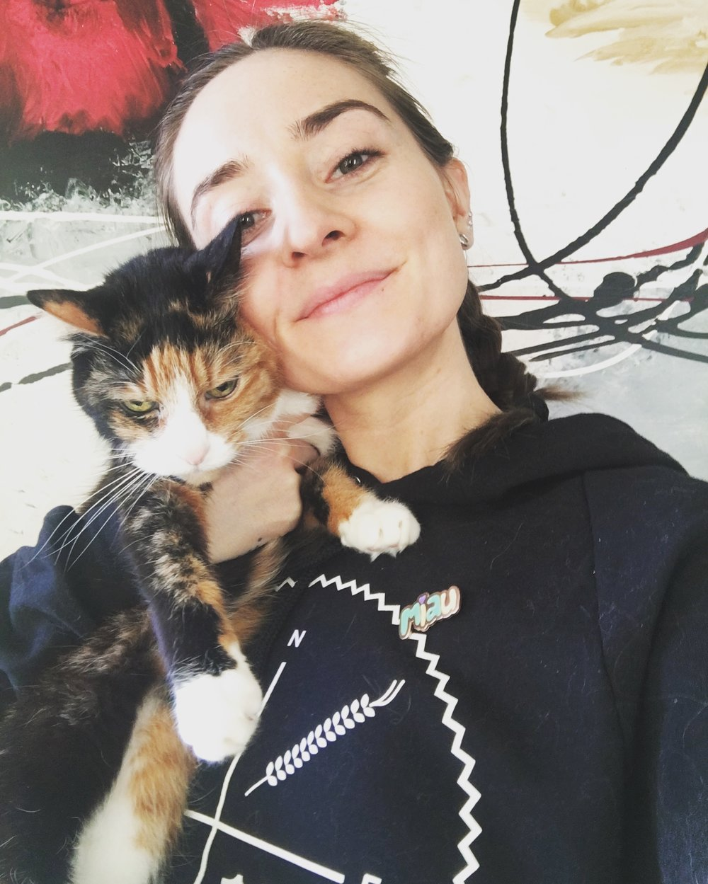 chloe cotter, chloe cotter writer, writer, canadian creative, the kitten life