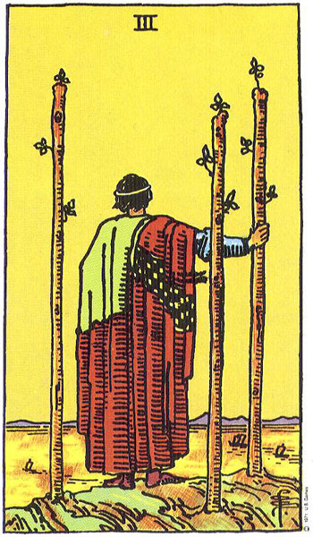 three of wands, minor arcana, rider waite, susan miller, the kitten life, june 2018 astrology, zodiac, monthly horoscope