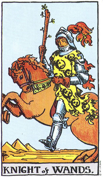knight of wands, minor arcana, rider waite, susan miller, the kitten life, july 2018 astrology, zodiac, monthly horoscope