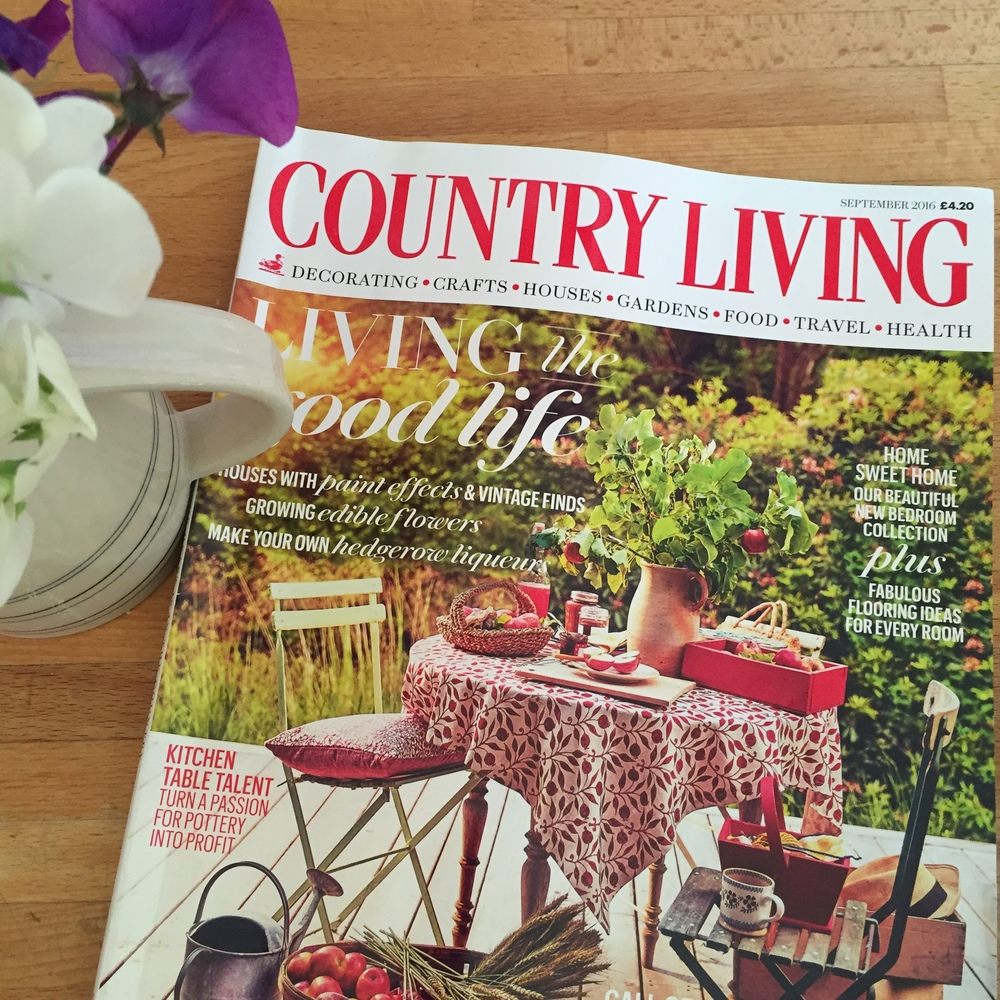 Epworth Corydalis cushion, Country Living September 2016
