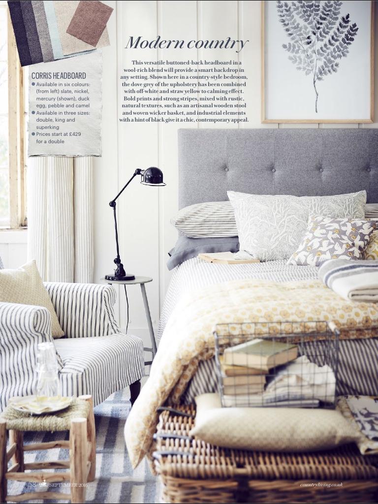 Rodborough Whitebeam cushion, Country Living September 2016