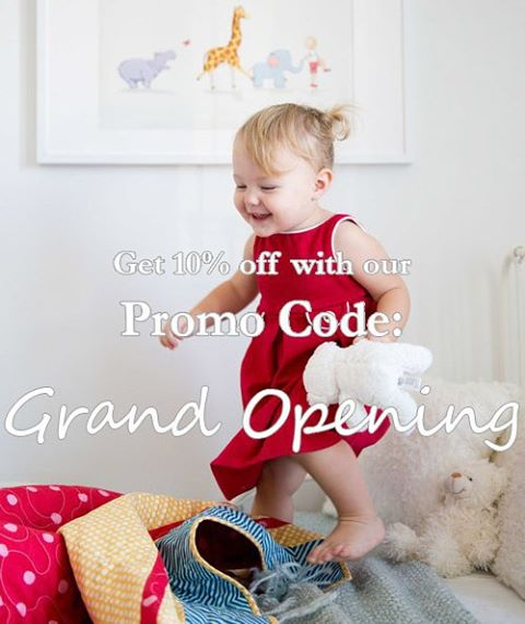 We can't thank you all enough, so many new followers this week!  We are so excited that it's our Grand Opening, our website is live, and this promo code will run from midnight to midnight (MST) on Black Friday.  Enjoy! (Link to our website is on our profile page)
