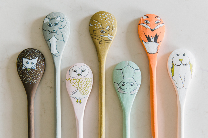 Wooden Spoon Puppet Patterns