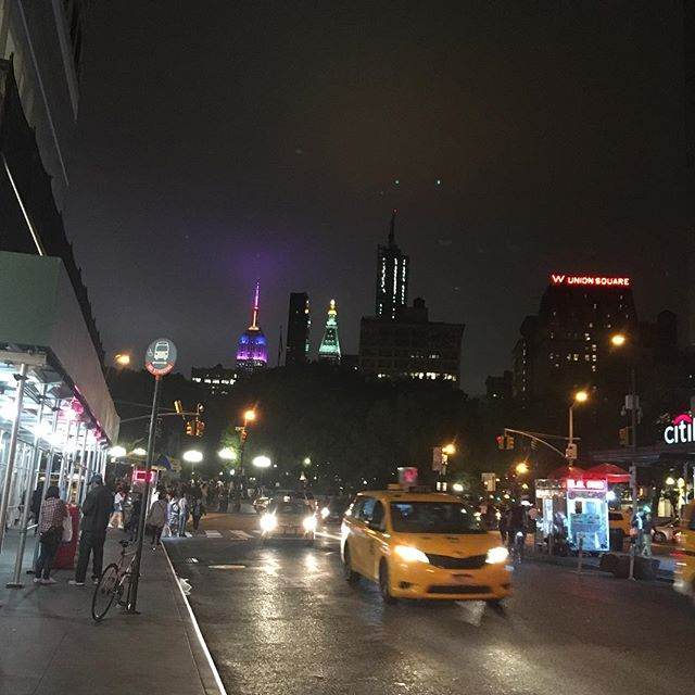 The night view....
